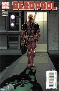 Cover Thumbnail for Deadpool (Marvel, 2008 series) #3 [2nd Print Variant]