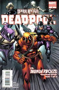 Cover Thumbnail for Deadpool (Marvel, 2008 series) #8 [2nd Print Variant]
