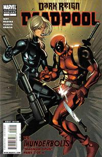 Cover Thumbnail for Deadpool (Marvel, 2008 series) #9 [Second Printing]