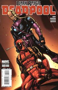 Cover Thumbnail for Deadpool (Marvel, 2008 series) #10 [2nd Print Variant]
