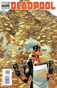 Cover Thumbnail for Deadpool (Marvel, 2008 series) #16 [2nd Print Variant]