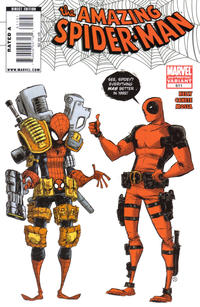 Cover Thumbnail for The Amazing Spider-Man (Marvel, 1999 series) #611 [2nd Printing Variant]