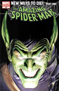 Cover Thumbnail for The Amazing Spider-Man (Marvel, 1999 series) #568 [Alex Ross Variant Cover]