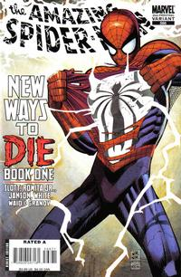 Cover Thumbnail for The Amazing Spider-Man (Marvel, 1999 series) #568 [2nd Printing Variant]