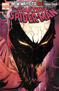 Cover Thumbnail for The Amazing Spider-Man (Marvel, 1999 series) #571 [John Romita Jr Anti-Venom Variant Cover]
