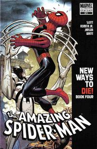 Cover Thumbnail for The Amazing Spider-Man (Marvel, 1999 series) #571 [2nd Printing John Romita Jr Variant Cover]