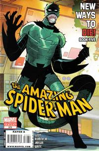 Cover Thumbnail for The Amazing Spider-Man (Marvel, 1999 series) #572 [2nd Printing John Romita Jr Variant Cover]