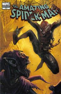 Cover Thumbnail for The Amazing Spider-Man (Marvel, 1999 series) #573 [Marko Djurdjevic Retailer Incentive Zombie Cover]