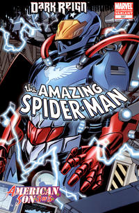 Cover Thumbnail for The Amazing Spider-Man (Marvel, 1999 series) #597 [2nd Printing Variant]