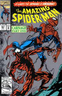 Cover for The Amazing Spider-Man (Marvel, 1963 series) #361 [Direct Edition]