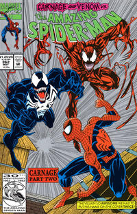 Cover Thumbnail for The Amazing Spider-Man (Marvel, 1963 series) #362 [Second Printing]
