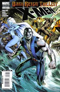 Cover Thumbnail for Dark Reign: The List - X-Men (Marvel, 2009 series) #1 [Second Printing]