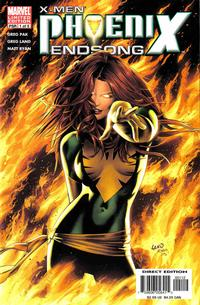 Cover Thumbnail for X-Men: Phoenix - Endsong (Marvel, 2005 series) #1 [Second Printing/Limited Edition]