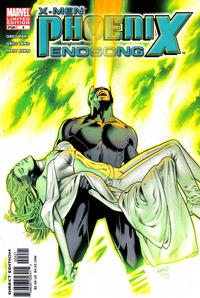 Cover Thumbnail for X-Men: Phoenix - Endsong (Marvel, 2005 series) #4 [Second Printing/Limited Edition]
