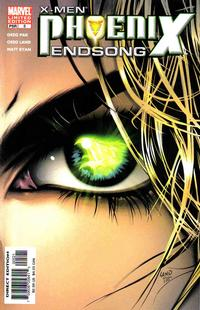 Cover Thumbnail for X-Men: Phoenix - Endsong (Marvel, 2005 series) #5 [Second Printing/Limited Edition]