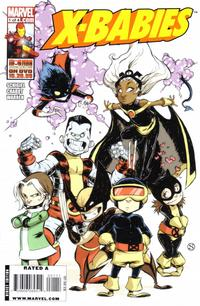 Cover Thumbnail for X-Babies (Marvel, 2009 series) #1