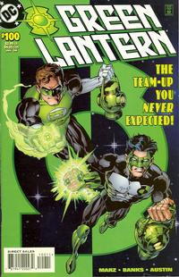 Cover Thumbnail for Green Lantern (DC, 1990 series) #100 [Hal Jordan & Kyle Rayner] [Direct Sales Edition]