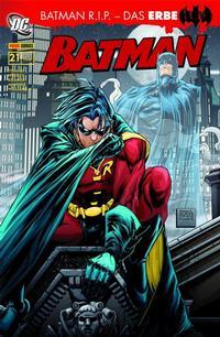 Cover Thumbnail for Batman Sonderband (Panini Deutschland, 2004 series) #21 - Batman R.I.P. - Das Erbe