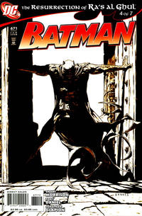 Cover for Batman (DC, 1940 series) #671 [2nd Printing]