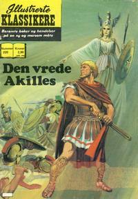 Cover for Illustrerte Klassikere [Classics Illustrated] (Illustrerte Klassikere / Williams Forlag, 1957 series) #220 - Den vrede Akilles