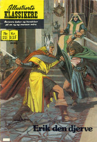Cover for Illustrerte Klassikere [Classics Illustrated] (Illustrerte Klassikere / Williams Forlag, 1957 series) #221 - Erik den djerve