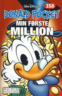 Cover Thumbnail for Donald Pocket (Hjemmet / Egmont, 1968 series) #358 - Min første million [1. opplag]