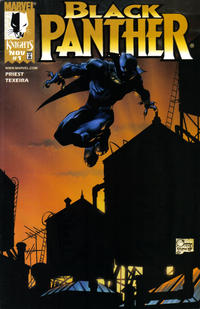 Cover Thumbnail for Black Panther (Marvel, 1998 series) #1 [Dynamic Forces Exclusive - Joe Quesada]