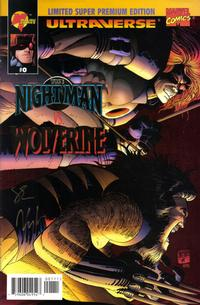 Cover Thumbnail for Night Man vs. Wolverine (Malibu; Marvel, 1995 series) #0 [Limited Super Premium Edition]