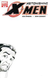 Cover Thumbnail for Astonishing X-Men (Marvel, 2004 series) #17 [Black and White Variant]