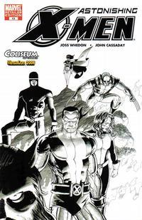 Cover Thumbnail for Astonishing X-Men (Marvel, 2004 series) #13 [Coliseum of Comics Variant]