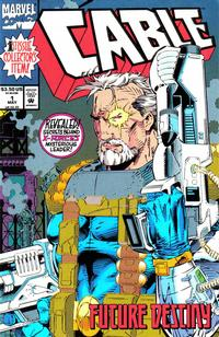 Cover Thumbnail for Cable (Marvel, 1993 series) #1 [No Gold Foil Variant]