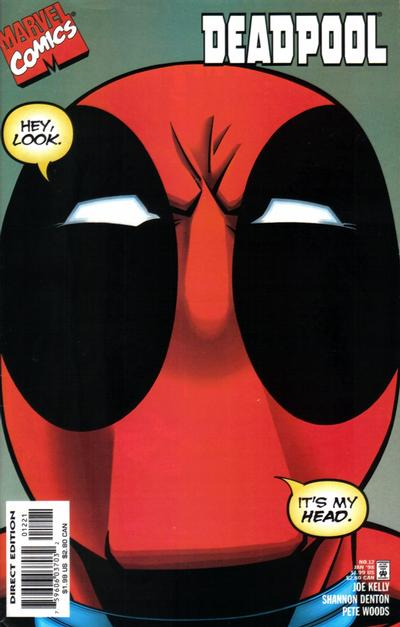 Cover for Deadpool (Marvel, 1997 series) #12 [Variant Edition]