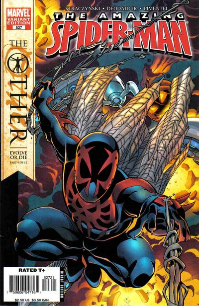 Cover for The Amazing Spider-Man (Marvel, 1999 series) #527 [Direct Edition]