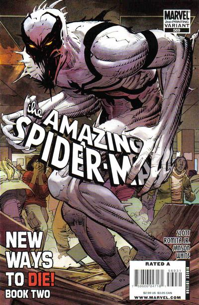 Cover for The Amazing Spider-Man (Marvel, 1999 series) #569