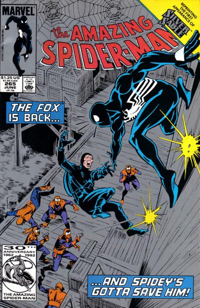 Cover for The Amazing Spider-Man (Marvel, 1963 series) #265 [Second Printing]
