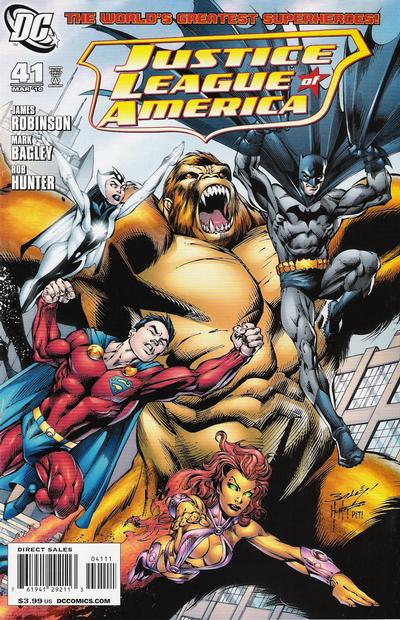 Cover for Justice League of America (DC, 2006 series) #41 [Cover A]
