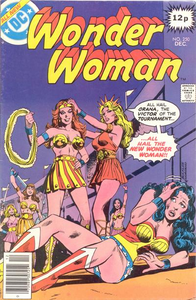 Cover for Wonder Woman (DC, 1942 series) #250 [British]
