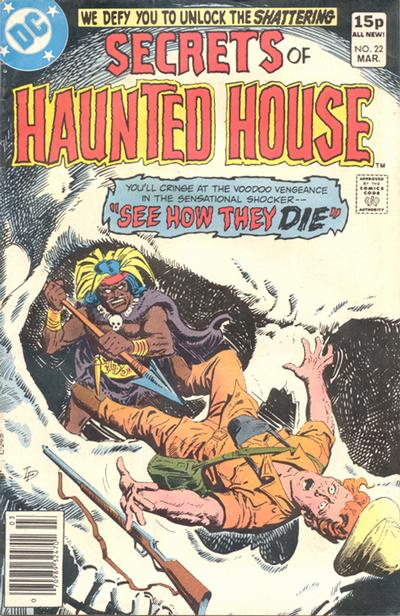 Cover for Secrets of Haunted House (DC, 1975 series) #22