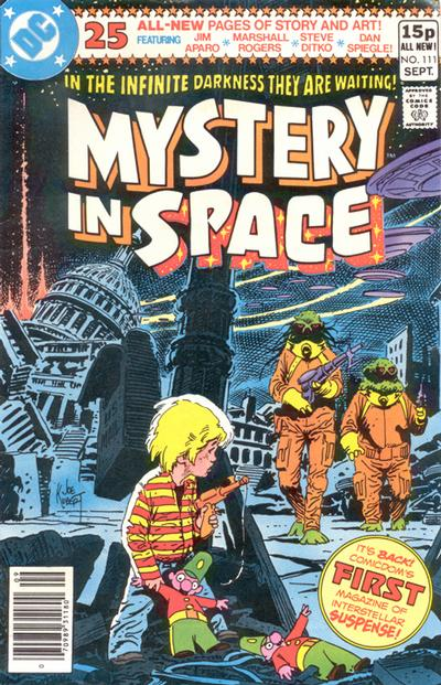 Cover for Mystery in Space (DC, 1951 series) #111