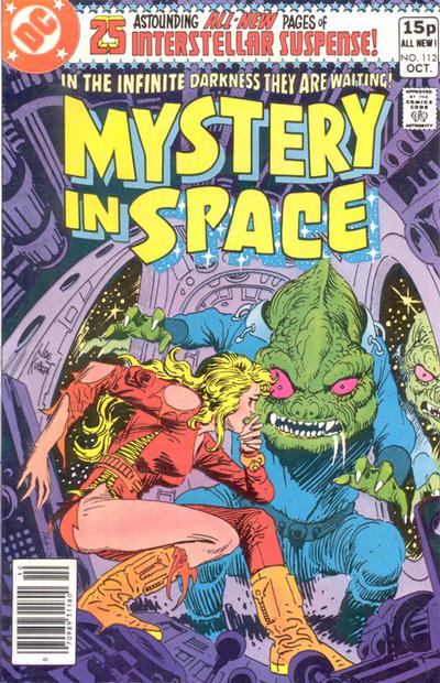 Cover for Mystery in Space (DC, 1951 series) #112 [Direct]