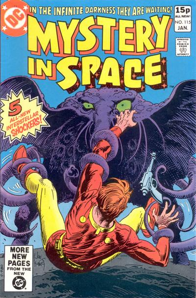 Cover for Mystery in Space (DC, 1951 series) #115 [Direct]