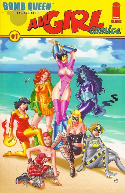 Cover for All-Girl Comics (Image, 2009 series) #1