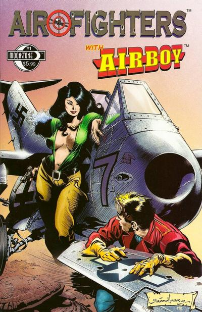 Cover for Airfighters (Moonstone, 2010 series) #1