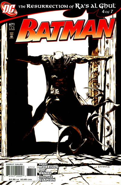 Cover for Batman (DC, 1940 series) #671 [Direct Sales]