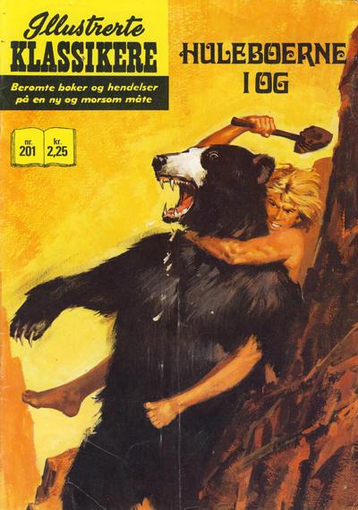 Cover for Illustrerte Klassikere [Classics Illustrated] (Illustrerte Klassikere / Williams Forlag, 1957 series) #201 - Huleboerne i Og