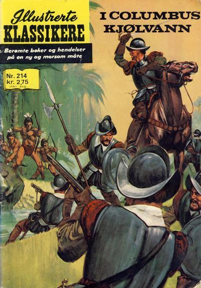 Cover for Illustrerte Klassikere [Classics Illustrated] (Illustrerte Klassikere / Williams Forlag, 1957 series) #214 - I Columbus kjølvann