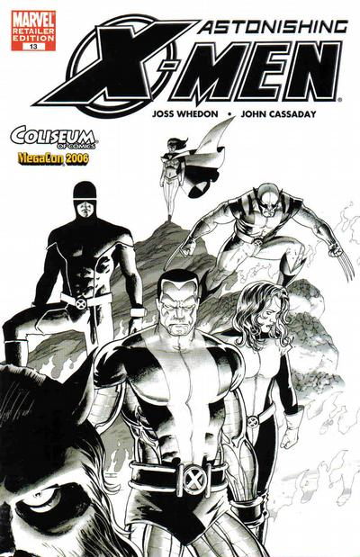 Cover for Astonishing X-Men (Marvel, 2004 series) #13 [Coliseum of Comics Variant]