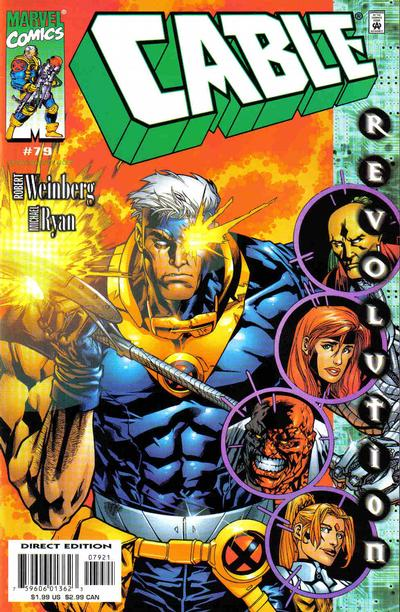 Cover for Cable (Marvel, 1993 series) #79 [Direct Edition]