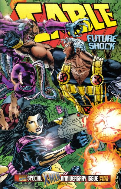 Cover for Cable (Marvel, 1993 series) #25 [Newsstand Edition]