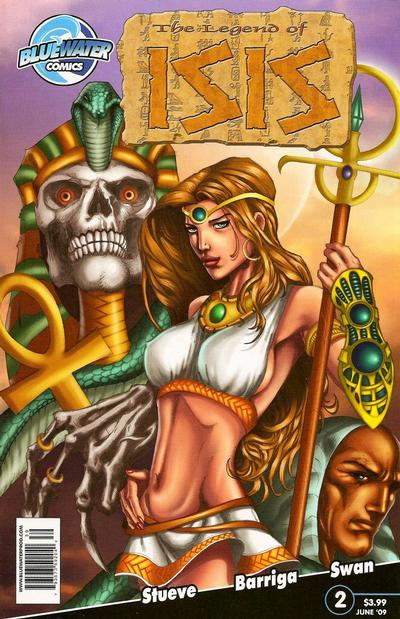 Cover for Legend of Isis (Bluewater / Storm / Stormfront / Tidalwave, 2009 series) #2